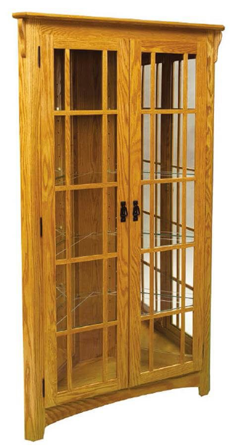 Eyre Corner Curio Cabinet