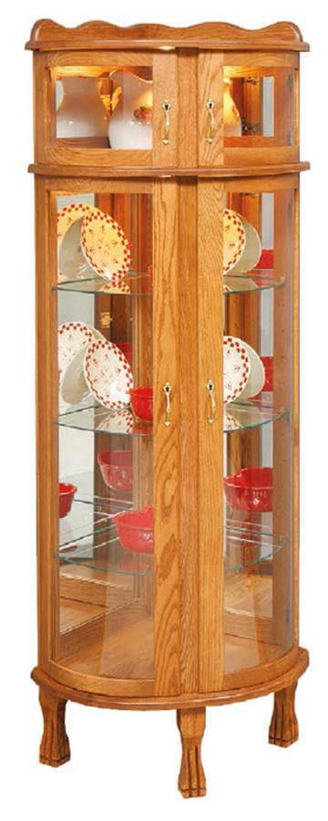 Louisville Corner Display Cabinet