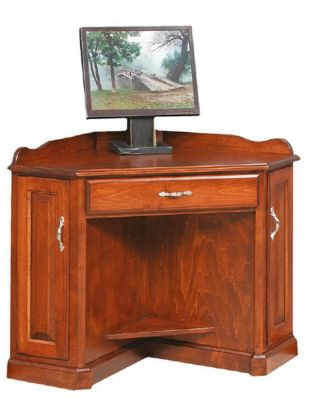 Floridian corner computer desk countryside amish furniture - Next corner computer desk ...