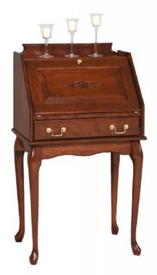 Floridian Secretary Desk in Cherry