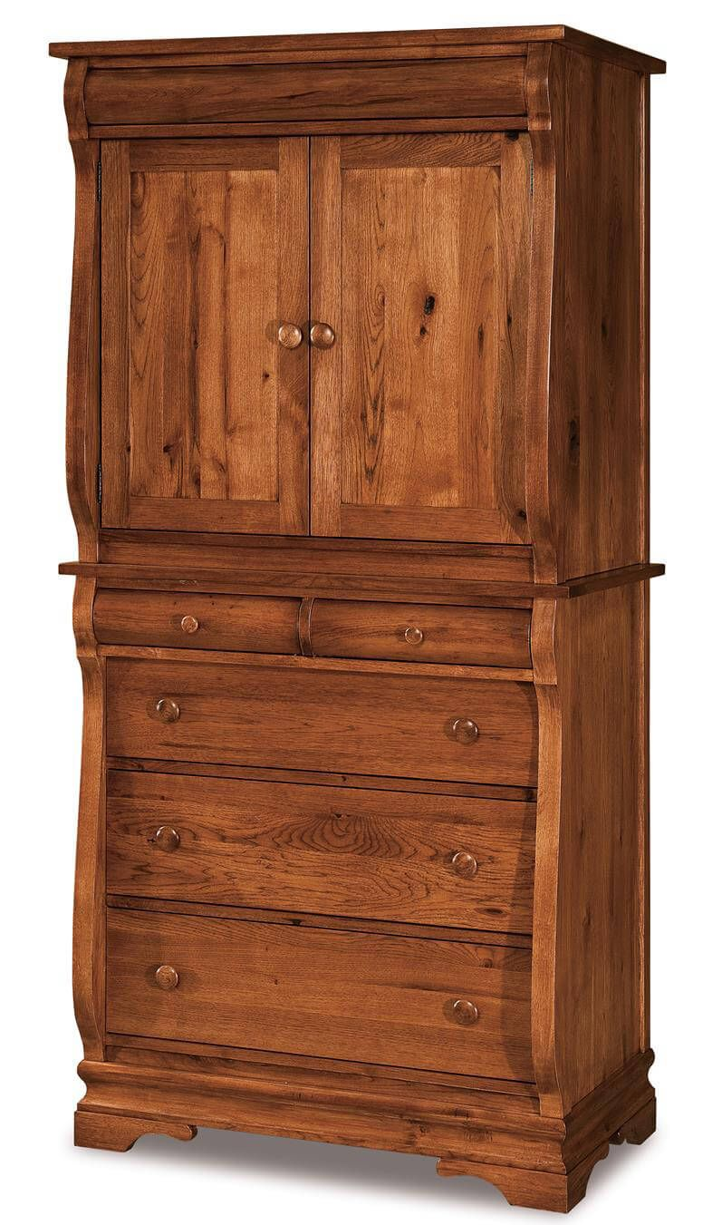 Milwaukee Sleigh Armoire