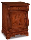 Milwaukee Sleigh Door Nightstand