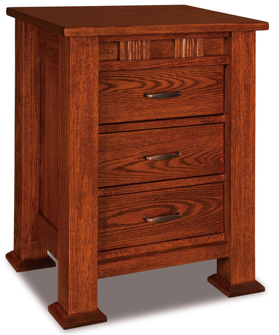 Tuskegee 3-Drawer Nightstand