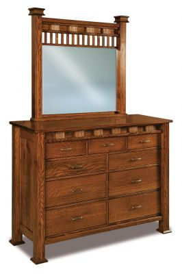 Tuskegee Dresser with Mirror