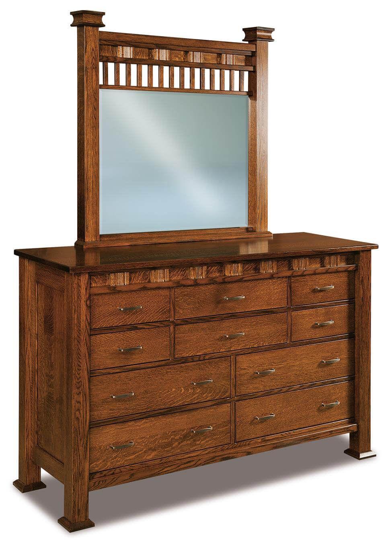 Tuskegee Mirror Dresser