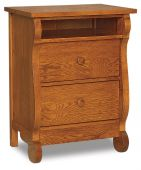 Victoria Sleigh Large Nightstand