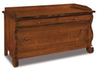 Victoria Sleigh Blanket Chest