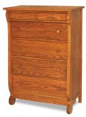 Victoria Sleigh 6-Drawer Chest