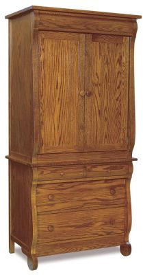 Victoria Sleigh Clothing Armoire