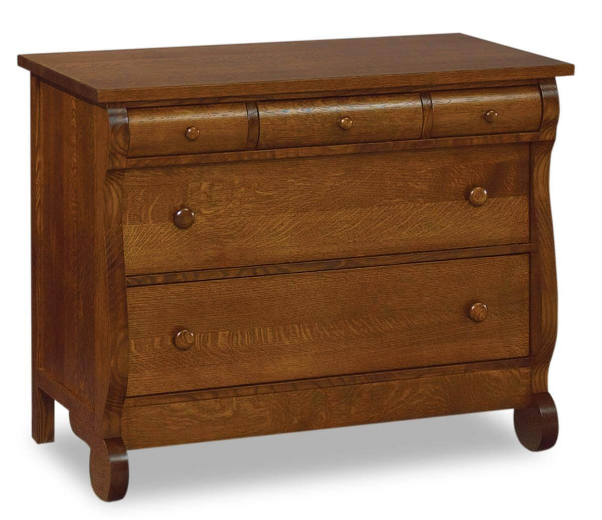 Victoria Sleigh Kid's Chest of Drawers