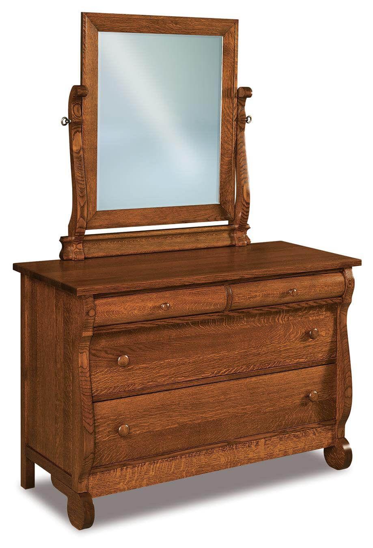 Victoria Sleigh Small Mirror Dresser