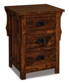 Almeda 3-Drawer Nightstand