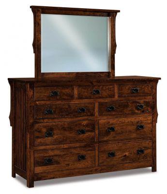 Almeda Amish Mirror Dresser