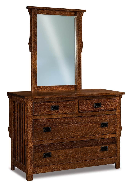 Almeda Small Mirror Dresser
