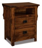 Almeda Nightstand with Opening
