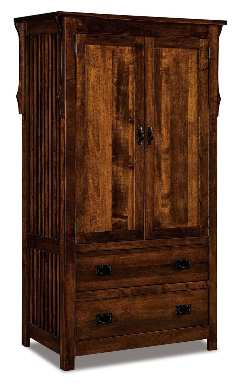 Almeda Closet Armoire