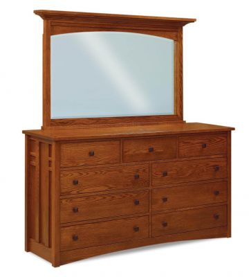 Alpine Dresser with Mirror