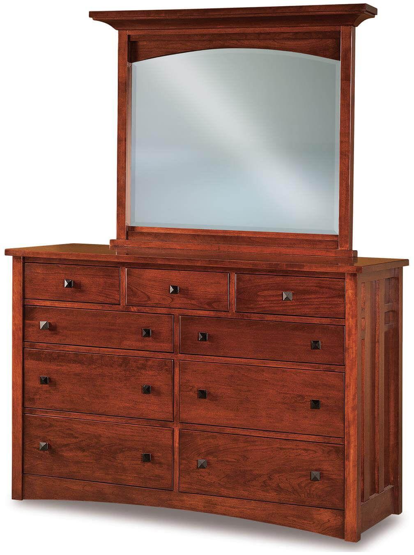 Alpine Mirror Dresser