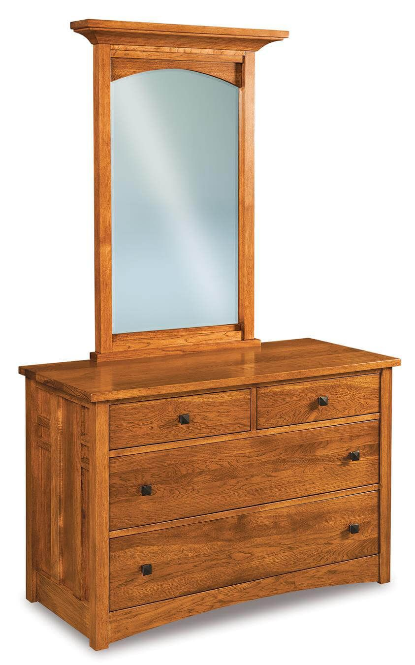 Alpine Small Dresser with Mirror