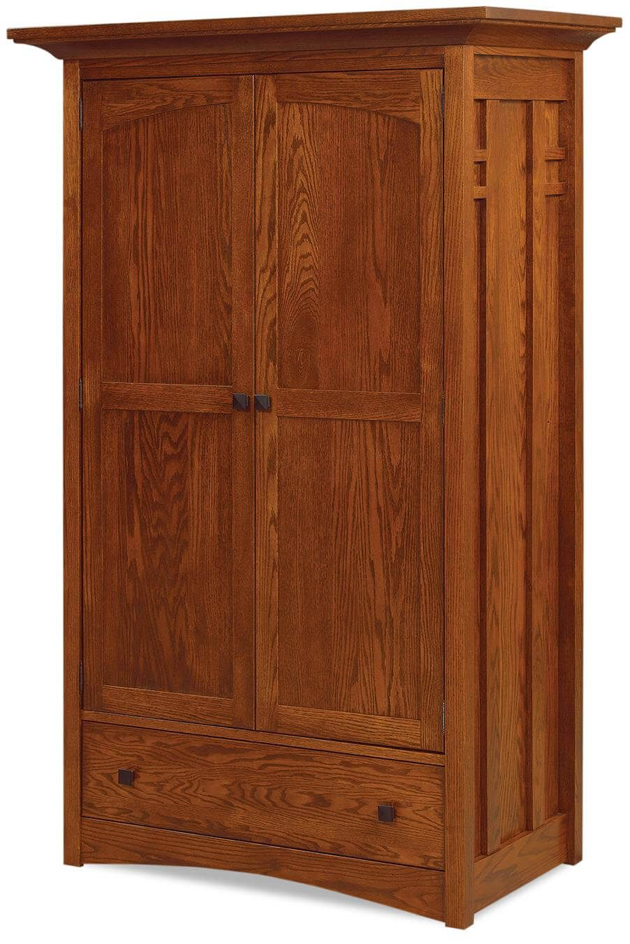 alpine clothing wardrobe armoire countryside amish furniture. Black Bedroom Furniture Sets. Home Design Ideas