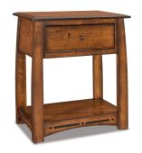 Castle Rock Single Drawer Nightstand