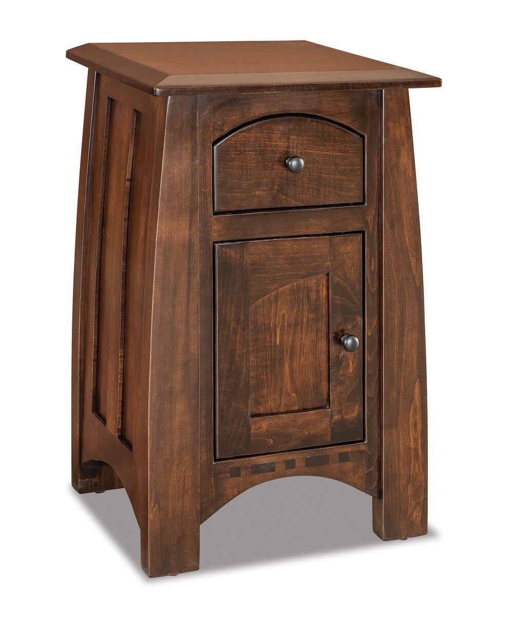 Castle Rock Petite Door Bedside Table