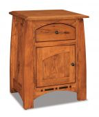 Castle Rock Single Door Night Table