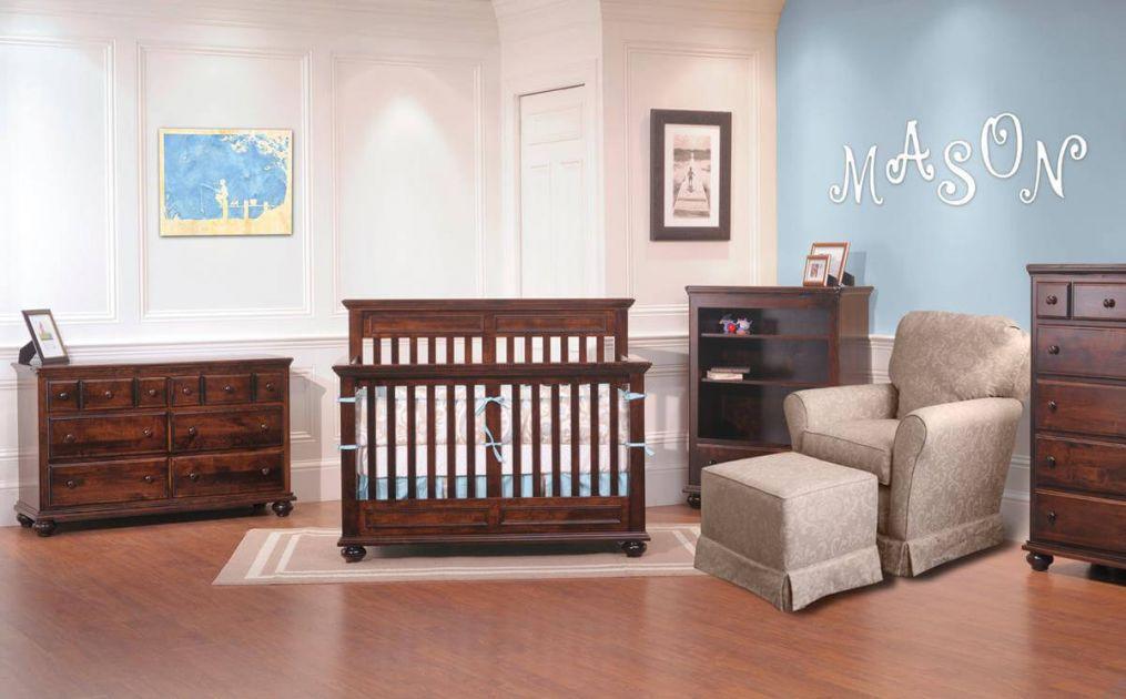 Caroline Nursery Crib Set Countryside Amish Furniture