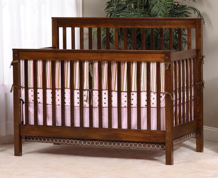 Peaceful Dreams Slat Crib