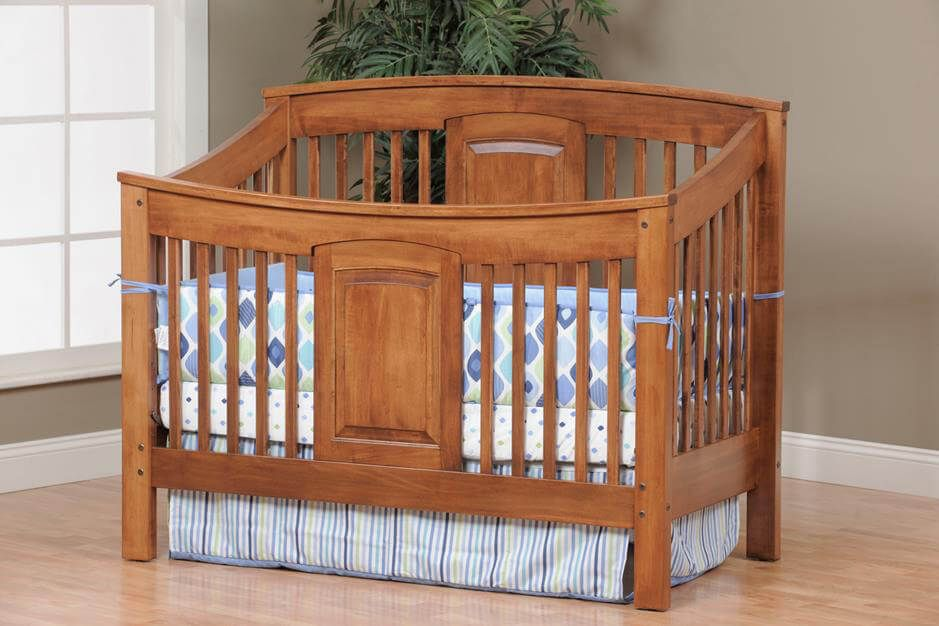Baby Bed Mesurment : Amish Handcrafted Celebrity Series Crib