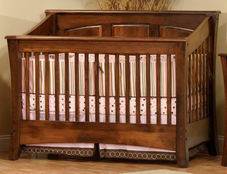 Solid Panel Crib