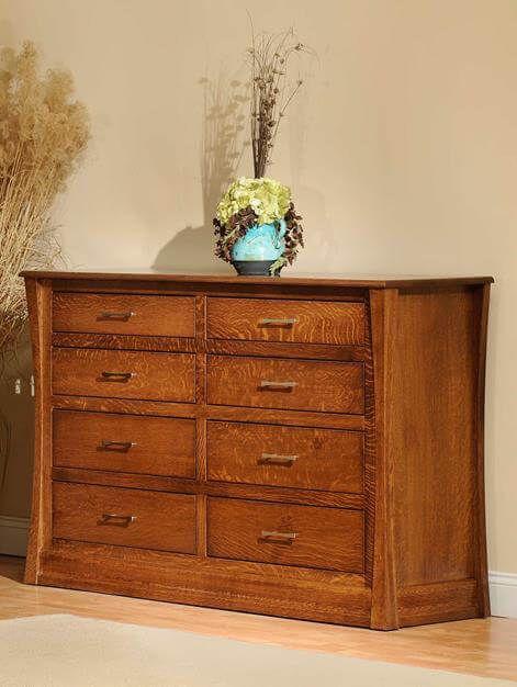 Rosewood Tall Dresser in Quartersawn White Oak