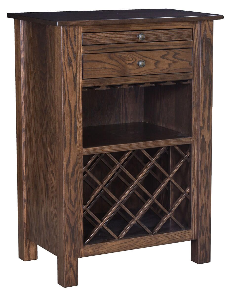 Dunwoody Wine Rack and Server