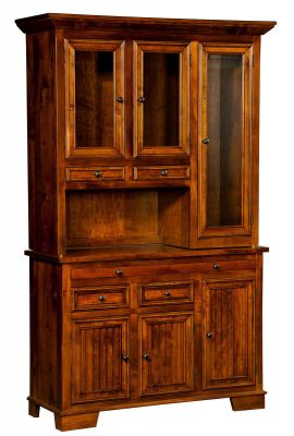 Duvall 3-Door China Display Case