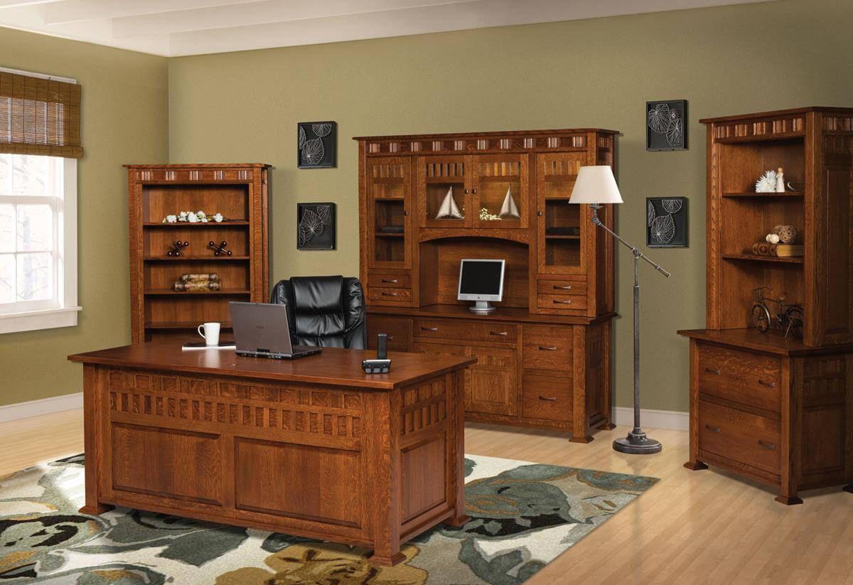 Annapolis Craftsman Office Set