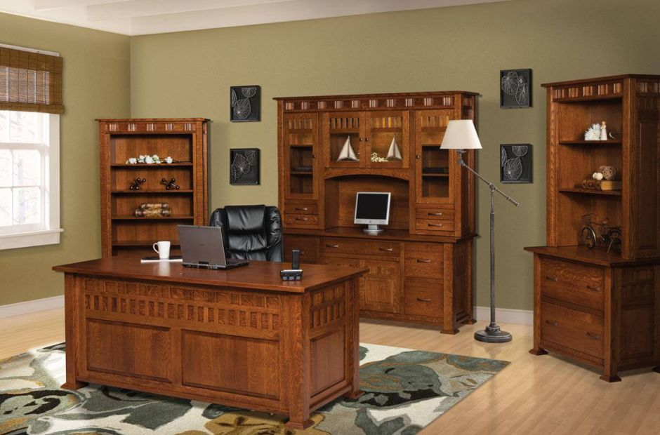 crafts style with the annapolis craftsman office set from countryside