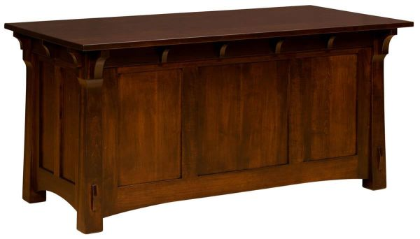 Augustana File Desk with topper removed