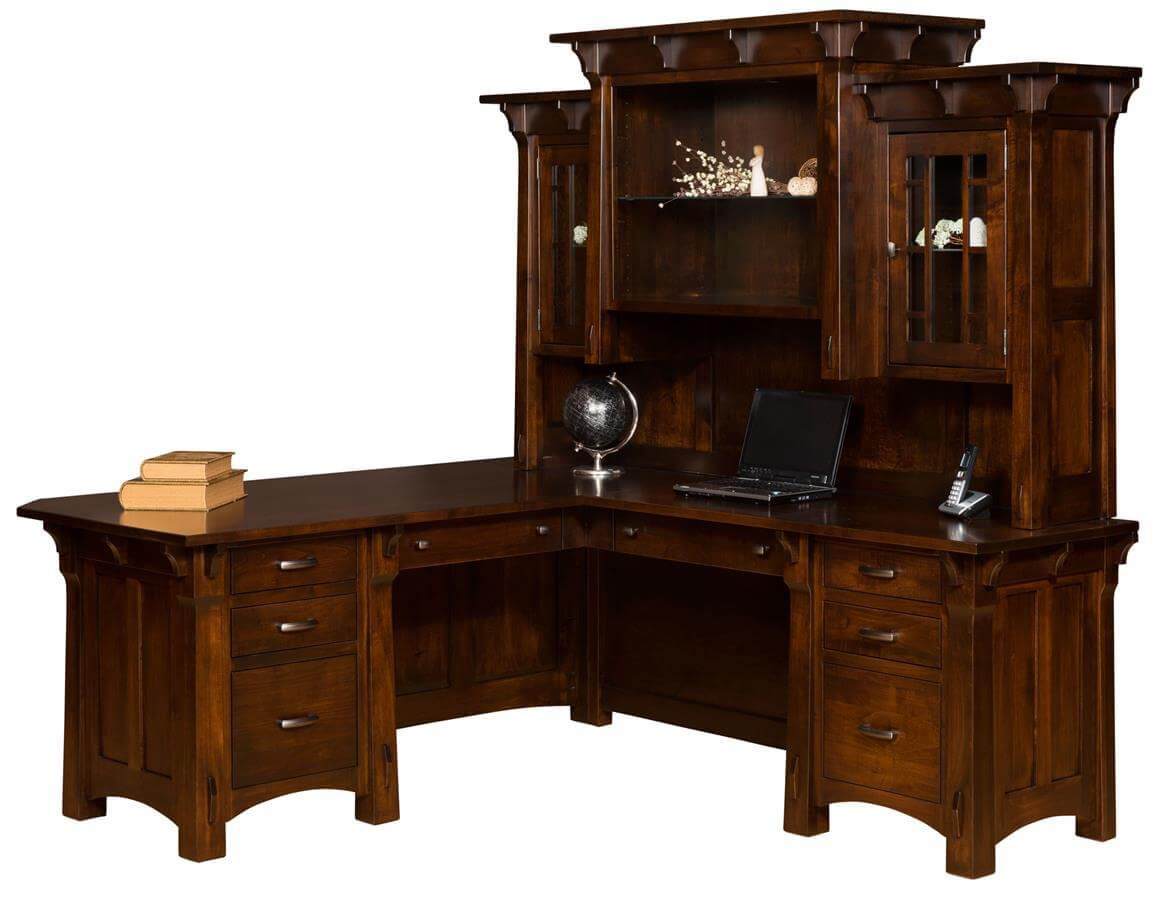 Augustana L-Shaped Desk