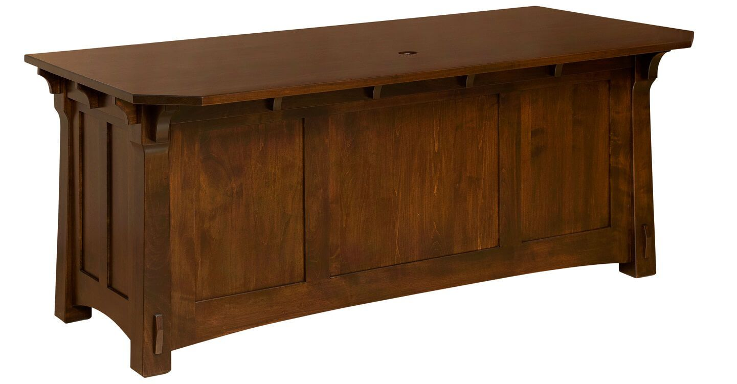Augustana Executive Desk Back