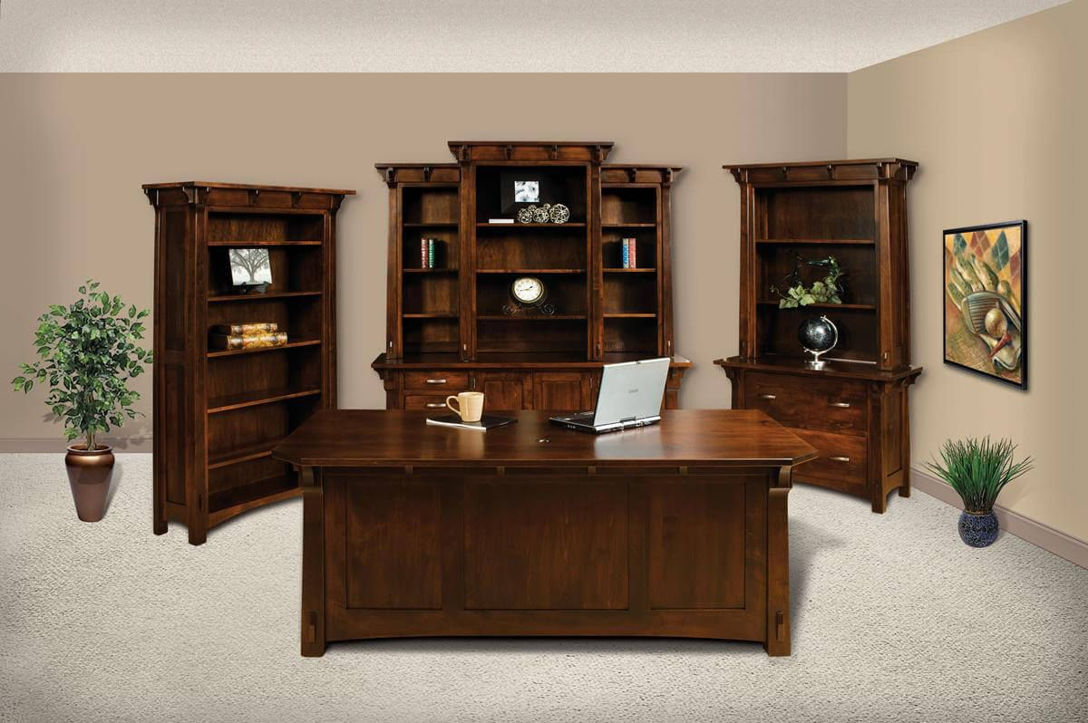 Augustana Office Collection in Brown Maple