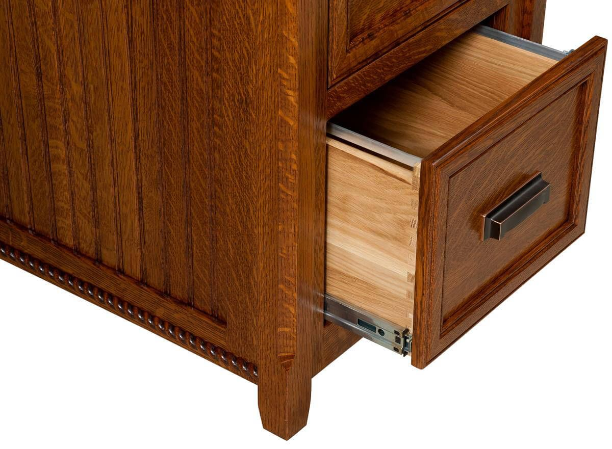 Drawer extension detail