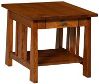 Faywood End Table with Drawer