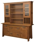 Hartington Executive Credenza with Hutch