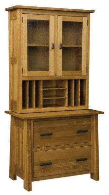 Hartington Lateral File with Hutch