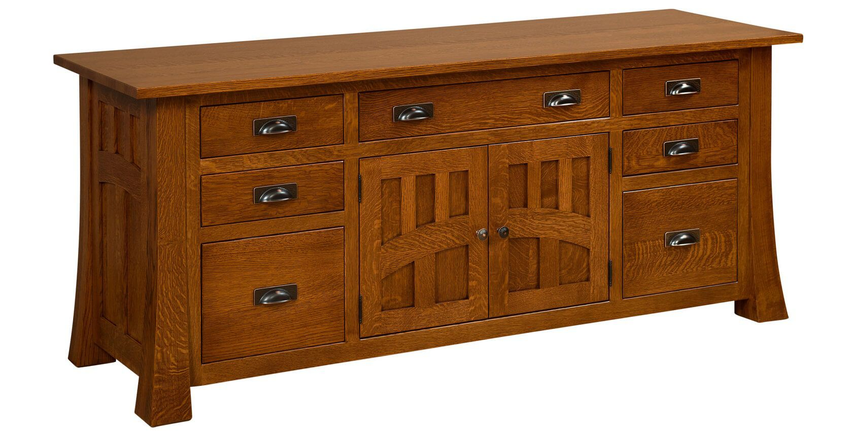 Mission Canyon Credenza with hutch removed