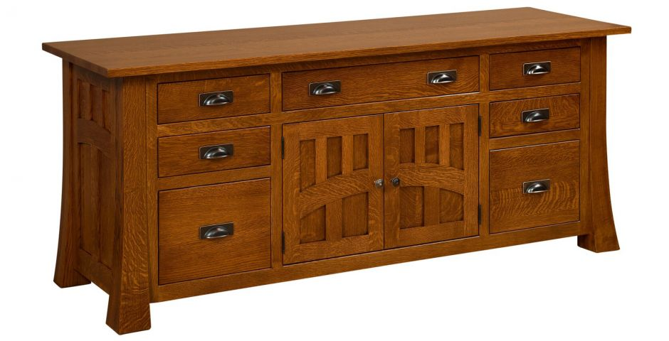 Mission Canyon Office Storage Credenza