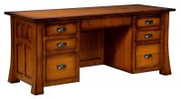 Mission Canyon Executive Desk