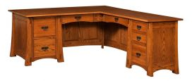 Palo Alto L-Shaped Desk without hutch