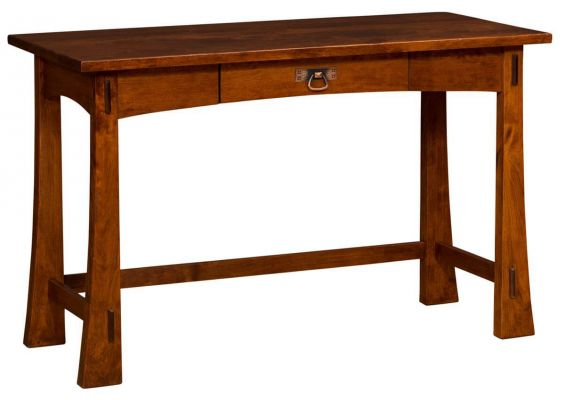 Palo Alto Writing Table in Rustic Cherry