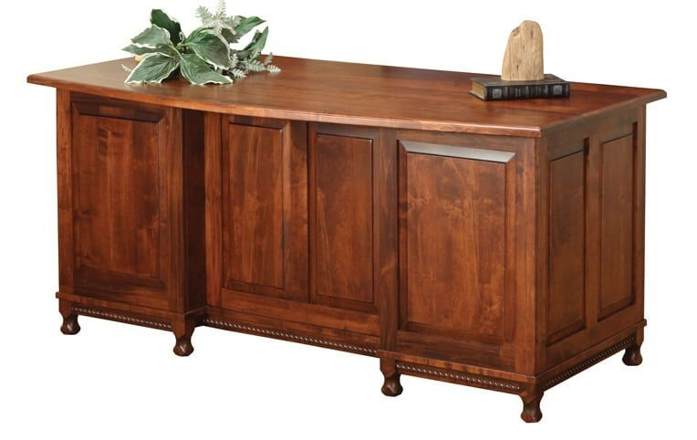 Brown Maple Office Desk